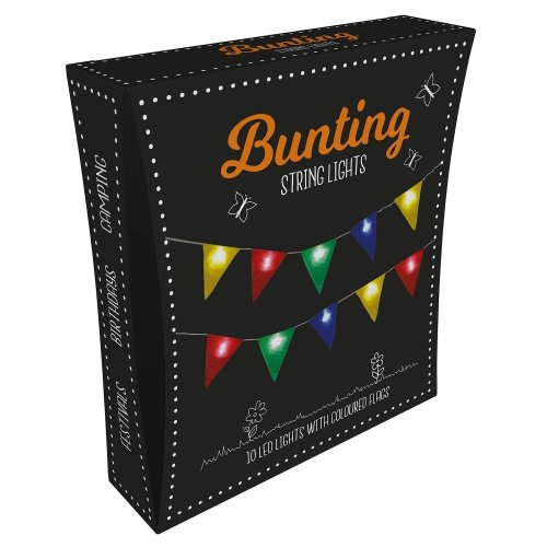 Fizz Creations Bunting String Lights Creative Fun Decoration