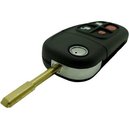 Fits Jaguar X Type XF E S 4 Button Remote Key Fob Flip Tibbe Refurbishment Kit