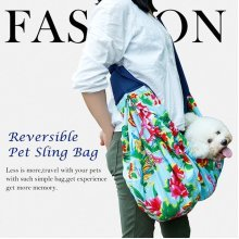 Small Pet Carrier Sling Outdoor Travel Tote Single Shoulder