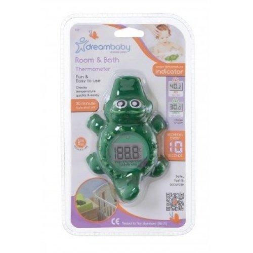 Dreambaby Room & Bath Thermometer Crocodile