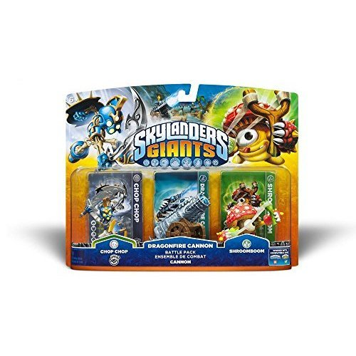 Skylanders Giants Triple pack - Chop Chop, Dragonfire Cannon, and Shroomboom