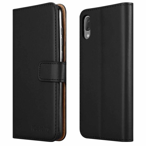 For Sony Xperia L3 Phone Leather Folio Wallet Case