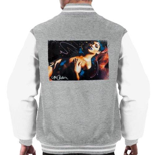 def8837d237d Sidney Maurer Original Portrait Of Rihanna White Men s Varsity Jacket on  OnBuy