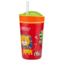 Snack n Sip 270ml sippy cup and snack pot Red Lion