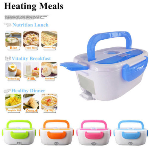 Electric Portable Heated Heating Lunch Box Hot Food Rice Soup Warmer