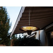 Black Ceiling Mounted Electric Patio Heater KABA