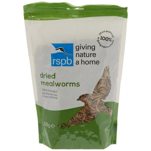 RSPB 200g Dried Mealworms