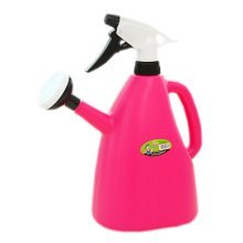 Multifunction Air Pressure Watering Can Garden Tool Watering Pot,1.2L Purple