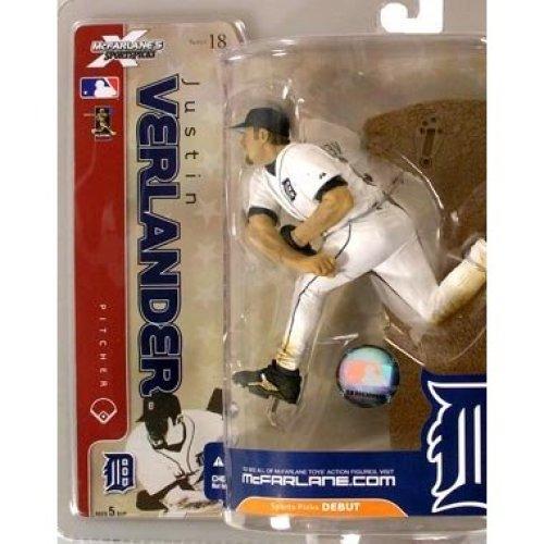 McFarlane Toys MLB Sports Picks Series 18 Action Figure Justin Verlander (Det...