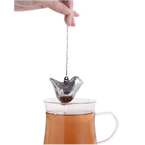 Stainless Steel Tea Strainer Tea Creative Tea Bag Tea Filter Follicular Grocerie