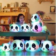 SOFO Colorful Led Pillow Glowing Panda Plush Cushion Doll