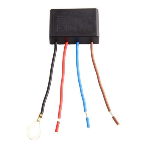 Lamp parts: 3-level 4-wire touch switch for table lamp incandescent light bulb15W-80W 230V-240V 50Hz