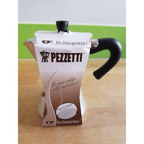 Pezzetti Induzione Bellexpress Espressokocher Induction for 6 cups