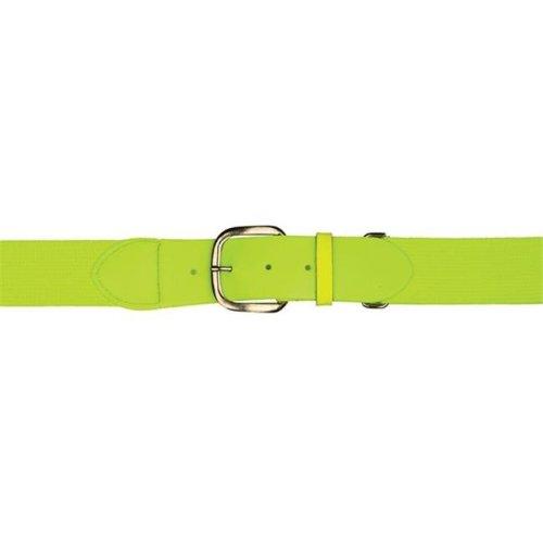 Adult Baseball & Softball Uniform Belt, Neon Yellow