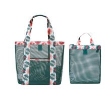 Travel Portable Bath Bag Mesh Swimming Packs Set Shoulder Bag-A2