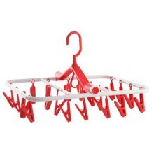 Laundry Drying Rack  Clip&Hanging Rack Folding Drying Racks