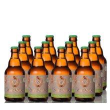 Van Bulck Gluten Free Organic Lager Beer 4.5%, Pack of 12