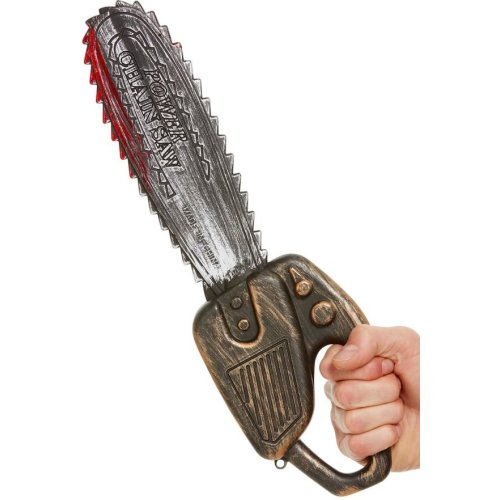 Blood Stained Chainsaw Halloween Fancy Dress Accessory