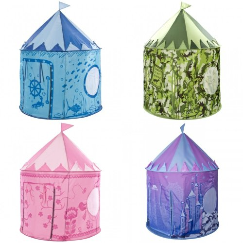 Trespass Childrens/Kids Chateau Play Tent With Packaway Bag