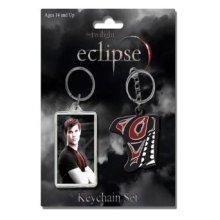 Twilight Saga Eclipse Keyring Set -  twilight saga eclipse jacob keychain neca 2 pack tribal keyring twin set necathe 2pack