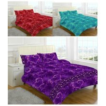 Jasmin Printed Duvet Quilt Cover Bedding Set