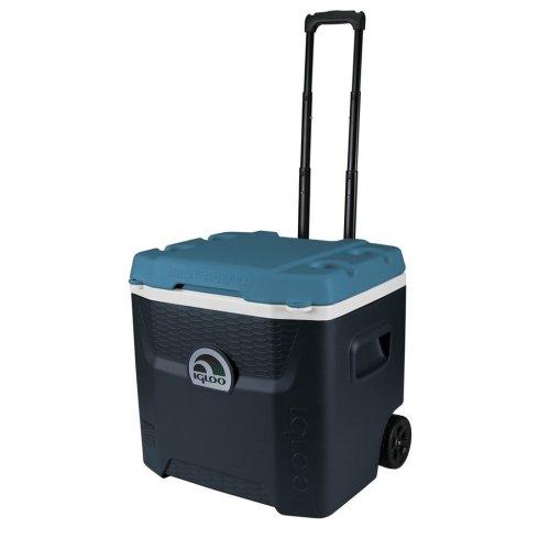 Maxcold Quantum 52 Roller Coolbox - Blue