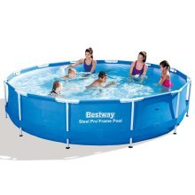 Bestway Steel Pro Round Swimming Pool 366 x 76 cm Steel Frame 56415