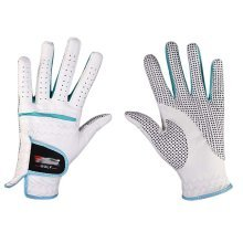 Professional High Quality Women Golf Gloves Golf Gift, White&Blue(#21)