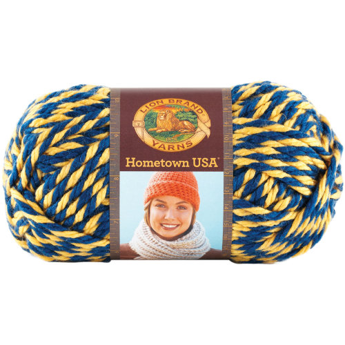 Lion Brand Hometown USA Yarn-Wolverines