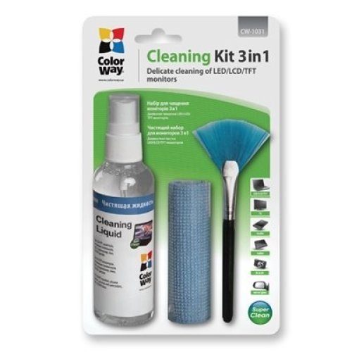 Colorway 3 In 1 Cleaner Set for Screen And Monitor CW-1031
