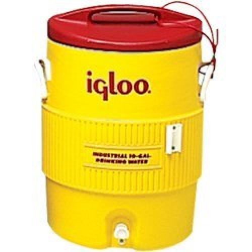 Igloo Water Cooler Yellow 10 Gallons