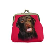Chocolate Labrador Purse