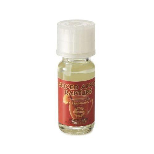 SPICED APPLE RAPTURE Home Fragrance Oil .33oz Temptations BBW White Barn