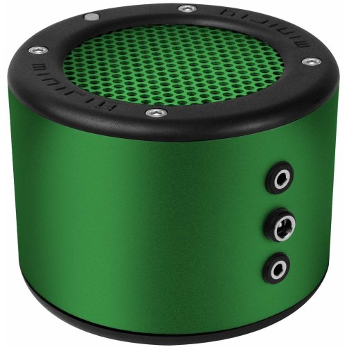 MINIRIG 2 Portable Rechargeable Bluetooth Speaker - 80 Hour Battery - Premium Stereo Sound - Green