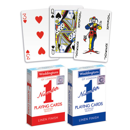 Waddingtons Number 1 Twin Pack Playing Cards