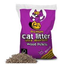 Cj's Premium Cat Litter 30 Litre