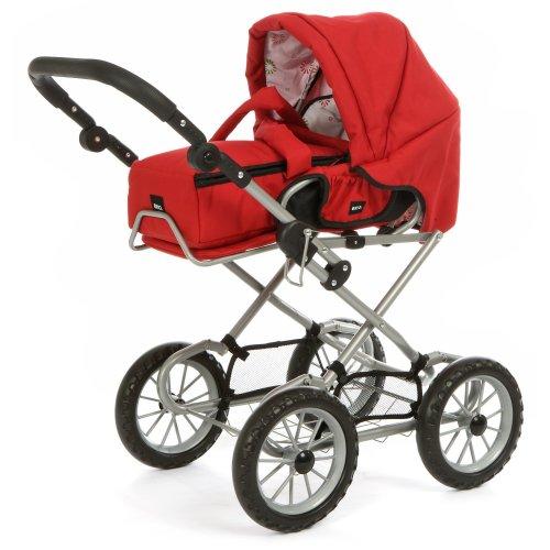 Stroller ''combi 3 in 1'' red