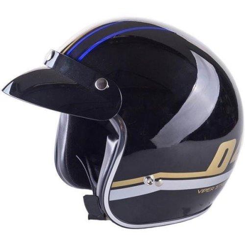 Viper RS-V06 Moderna Blue Open Face Motorcycle Helmet