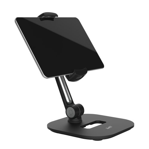 ZenCT Tablet Stand, Multi-Angle Rotatable Metal Tablet Holder - Black