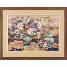 D01499 - Dimensions Crewel Embroidery - Oriental Splendor