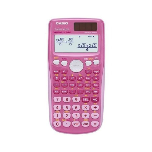 Casio Scientific Calculator with 260 Functions - Pink (FX85GTPLUS/PK)