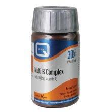Quest  Multi B Complex & Vitamin C 500mg Tablets 30s