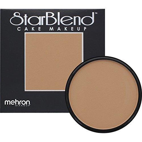 Mehron Makeup Starblend Cake 2 Oz Medium Dark Olive