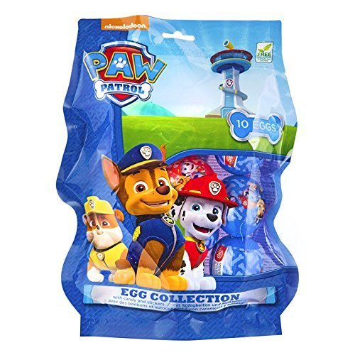 Paw Patrol Egg Collection (10 Eggs)