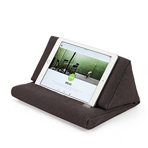 IPEVO PadPillow Pillow Stand for iPad 1/2/3/4/Air/Nexus/Galaxy - Charcoal Grey