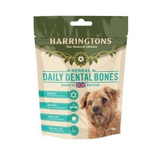 Harringtons Daily Dental Bone Shaped Dog Treats (7 Packs)