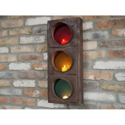 Traffic Light Candle/Tealight Holder