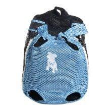 Fashion Travel Front Backpack Carrier Bag For Pets BLUE (Suitable for 3.5-5.5kg)