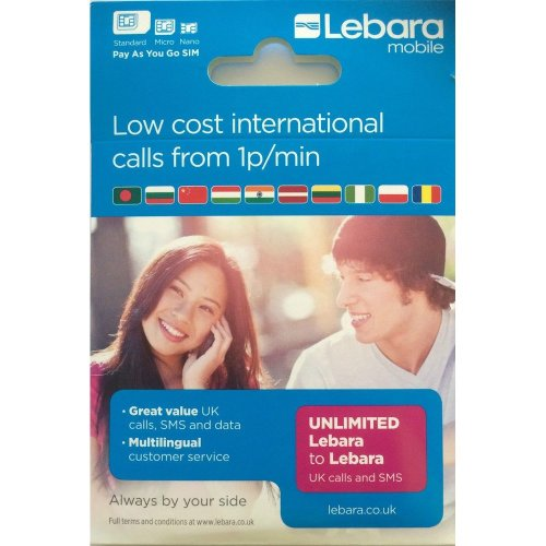 Lebara Mobile Low Cost International Calls From 1p/Min