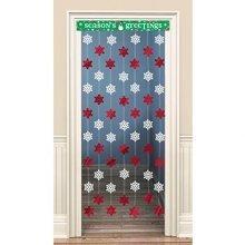 Christmas Door Curtain 1.2m x 86.3cm -